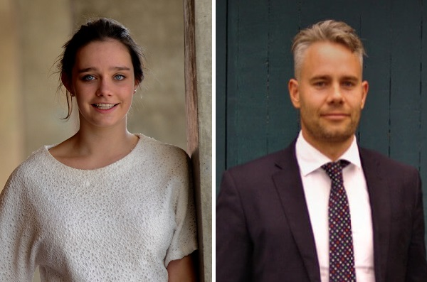 Amy Strang and Armin Guttke - new board members for ITSNZ