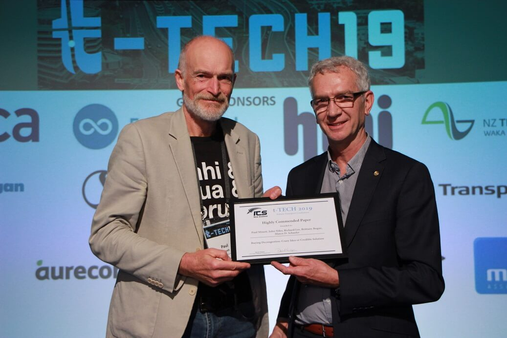 Paul Minnett highly commended paper T-Tech Conference 2019